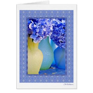 Hydrangea medley III Card