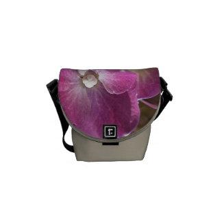 Hydrangea Pink Mini Messenger Bag