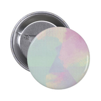 Hydrangea Series Watercolor Abstract Opal 6 Cm Round Badge