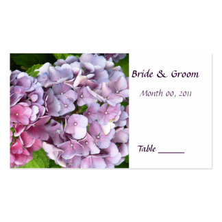 Hydrangea Table Place Card Business Cards