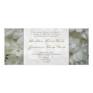 Hydrangea Wedding Invitation- From Bride s Parents