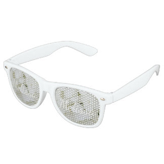 Hydrangea White Flowers Blossom Elegant Floral Retro Sunglasses