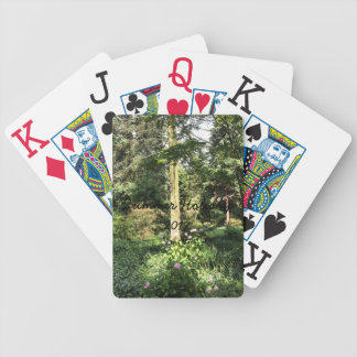 Hydrangea Wood Trees Nature Photography Bicycle Playing Cards