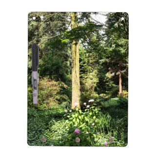 Hydrangea Wood Trees Nature Photography Dry Erase Board