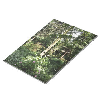 Hydrangea Wood Trees Nature Photography Notepad
