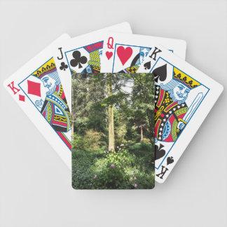 Hydrangea Wood Trees Nature Photography Poker Deck