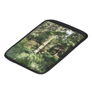 Hydrangea Wood Trees Nature Photography Sleeve For iPads
