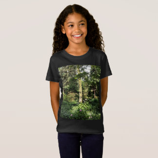 Hydrangea Wood Trees Nature Photography T-Shirt