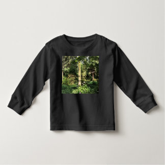 Hydrangea Wood Trees Nature Photography Toddler T-Shirt
