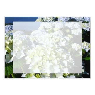 Hydrangeas 13 Cm X 18 Cm Invitation Card