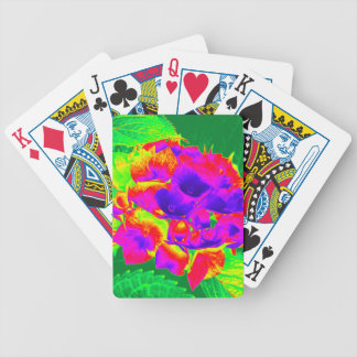 Hydrangeas 1 bicycle playing cards