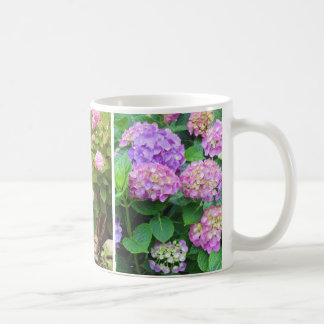 Hydrangeas and Lily Coffee Mug