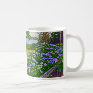 Hydrangeas at Orleans Coffee Mug