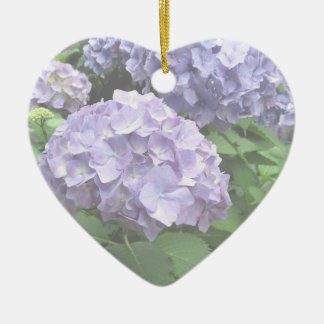Hydrangeas at Trebah Gardens Flower Girl Thank You Ceramic Heart Decoration