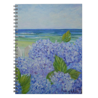 Hydrangeas By the Sea Notebook
