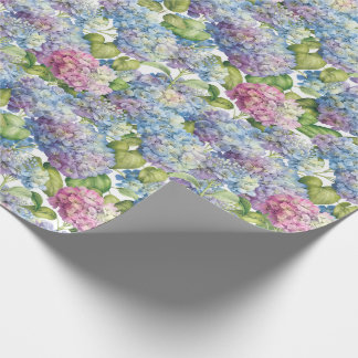 Hydrangeas in Bloom Wrapping Paper