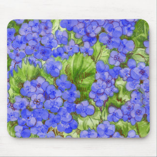 Hydrangeas Mouse Pads