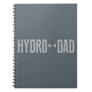 Hydro Dad Spiral Notebook