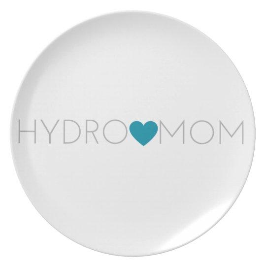 Hydro Mum Plate