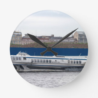 Hydrofoil St Petersburg Russia Round Clock