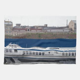 Hydrofoil St Petersburg Russia Tea Towel