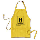 hydrogen - a gas which turns into people aprons