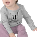 hydrogen - a gas which turns into people tees