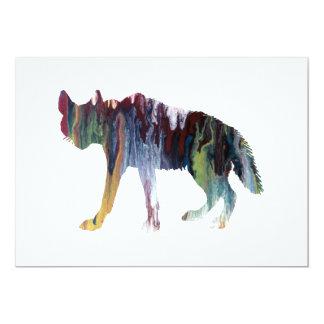 Hyena art card