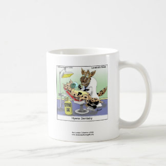 Hyena Dentistry Cartoon Funny Quality Coffee Mug