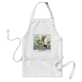 Hyena Dentistry Funny Gifts, Tees & Collectibles Adult Apron