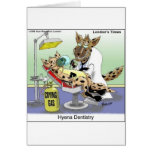 Hyena Dentistry Funny Gifts, Tees & Collectibles Greeting Cards