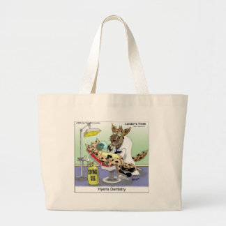 Hyena Dentistry Gifts Tees Mugs Cards Etc Canvas Bag