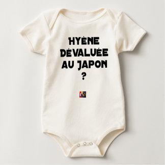 HYENA DEVALUATED IN JAPAN? - Word games Baby Bodysuit