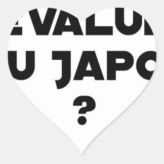 HYENA DEVALUATED IN JAPAN? - Word games Heart Sticker