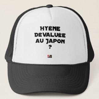HYENA DEVALUATED IN JAPAN? - Word games Trucker Hat