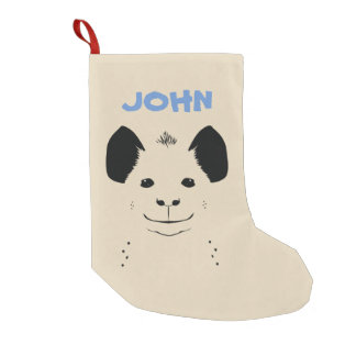 hyena small christmas stocking