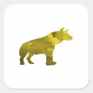 Hyena Square Sticker