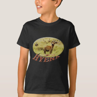 Hyena wildlife safari mens / teens t-shirts