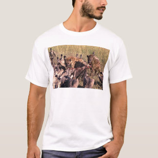 Hyena's prey with vultures T-Shirt