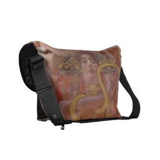 Hygeia by Gustav Klimt Courier Bags