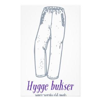 Hygge bukser: Celebrate old comfy pants! Stationery