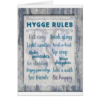 Hygge Rules Card