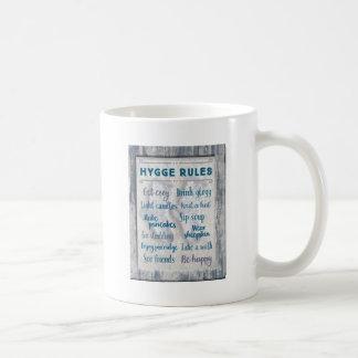 Hygge Rules Coffee Mug