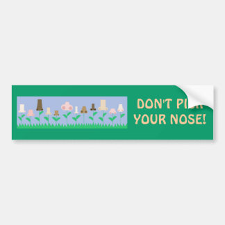 Hygiene Message Bumper Sticker