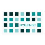 HYGIENIST (mod squares) Business Card