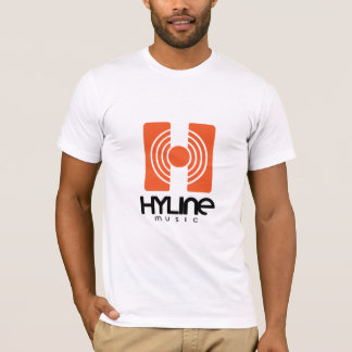 Hyline Music T-shirt White fit Ted