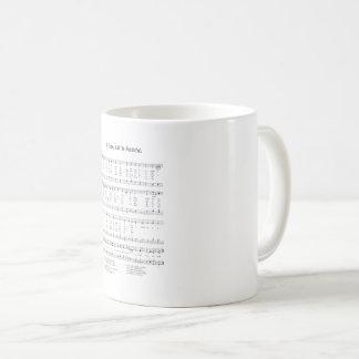 Hymn - O Come All Ye Faithful Coffee Mug