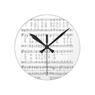 Hymn - O Come All Ye Faithful Round Clock
