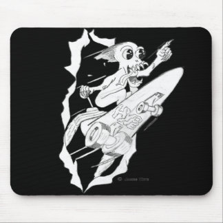HYPE: Rocket Powered Skateboard Mouse Pad