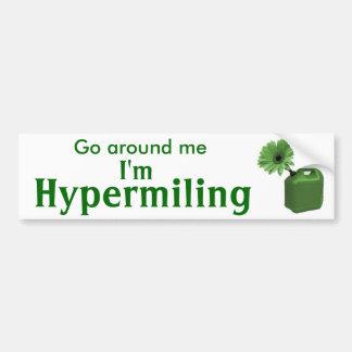 Hypermiling Bumper Sticker I